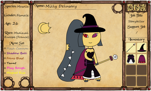 Pokemon of Avalon App - Milly Delusory the Return by MawCarby