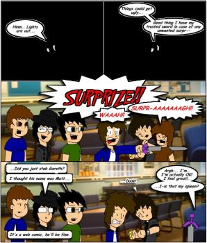 Comic 14 Wild Stab in the Dark by Mr-Page