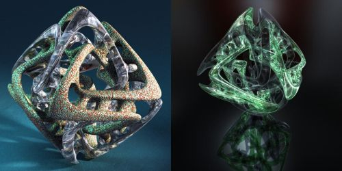 My 12th DS render and a Bryce render. by davidbrinnen