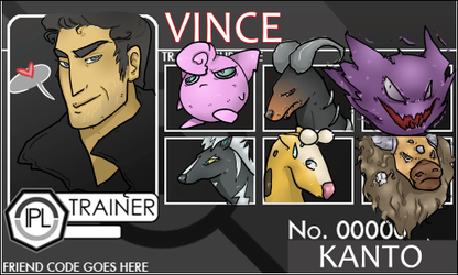 IPL Trainer Card - VINCE by norree