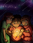 Star Children [+Speedpaint] by SafirasArt