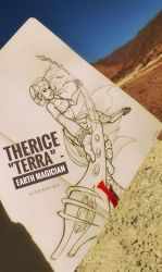 [TA] Therice the Earth Magician by Vixenkiba