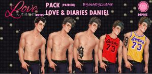 PACK (NOVO) LOVE E DIARIES (PATRICK) by Marylusa18