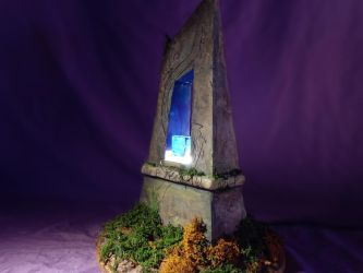 magic runestone comes now with lights!  by jullian24400