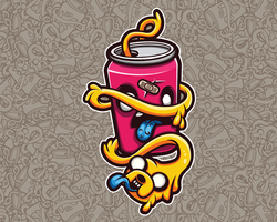 Can of Jake by Mr-InkHeart
