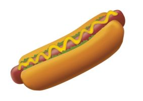 Hot dog vector by superawesomevectors