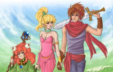 Secret of Mana by Mandy-Mo