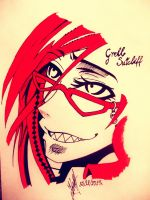 Grell Sutcliff by artmaker77