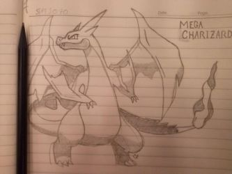 Mega Charizard by Happy-Pappy