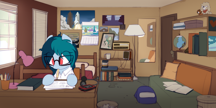 Young Delta's room by ShinodaGE