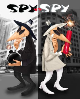 Spy vs Spy Untoon by JessieReigne