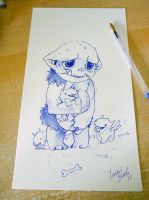 Inktober Day 23 by tikopets