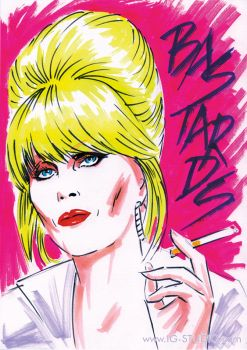 Patsy Stone says by soyivang