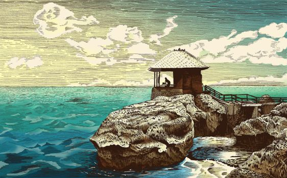 Ayana Spa on the rock by vhenomenon
