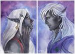 Dark Elves by AlbinaDiamond