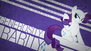 Glamorous [Rarity Typography] by UtterlyLudicrous
