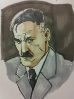 Talbot from Agents of shield sketch by EmanuelMacias