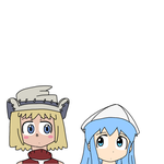 Patricia Thompson with Squid Girl by MarcosPower1996