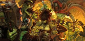 God Wars Orc by lizoozil