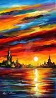 I saw a dream by Leonid Afremov by Leonidafremov