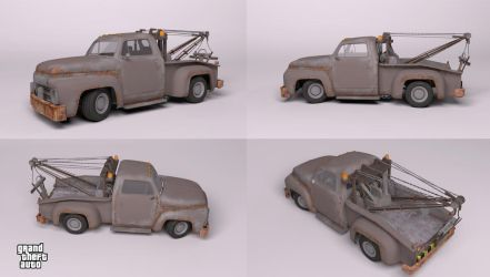 Vapid Tow Truck by Bloodstability