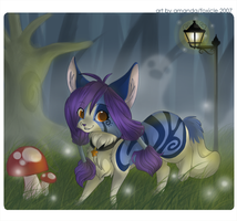 .:forest.lights:. by foxicle