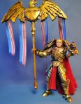 God Emperor Trump action figure by Jin-Saotome