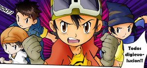 Digimon Frontier Manga1 by MegumiXKan