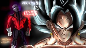 Vegetto vs Jiren fan comic cover by Crysis9995