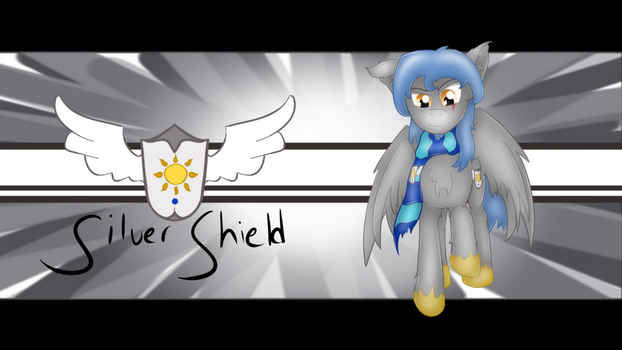 Silver Shield by mrmayortheiv