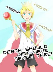 Death Should Not Have Taken Thee! by SubjectRei