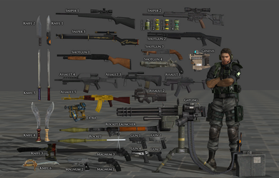 Weapon Pack RE Rev by Adngel
