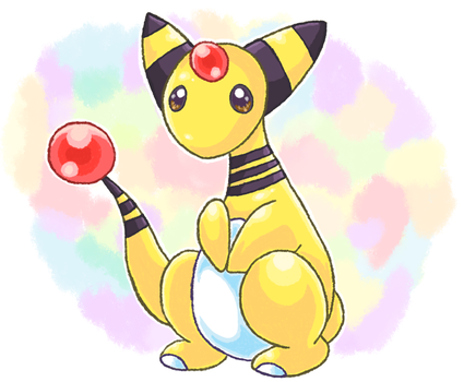 Ampharos by Meron25