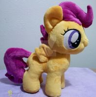 Scootaloo Filly Plush for sale by SiamchuchusPlushies