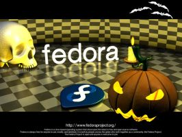 Fedora halloween by Mola-mp