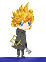 Roxas - KH 358-2 days by Aninsey
