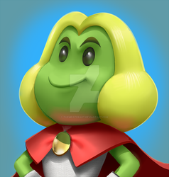 3d Prince Peasley by themeisterart