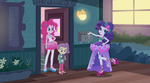 MLP Equestria Girls Pinkie Sitting Moments 1 by Wakko2010