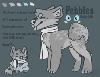 Pebbles ref by beubah