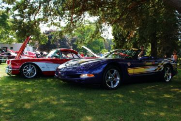 The Vette Duo by PhotoDrive
