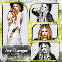 +PNG// Avril Lavigne by PacksHQ