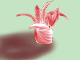 Abtract sketch-plant by OpaIescent