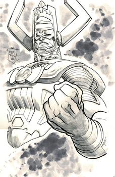 Galactus - Grey Wash Test by jonathan-rector