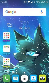 My home screen by Sparrowfern33