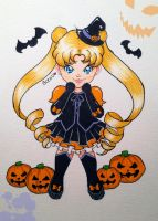 Sailor Moon | Halloween by EstixArt