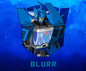 Blurr character sketch thingy  :D by Ahrrr