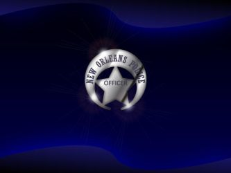 NOPD Chrome Badge Wallpaper by tempest790