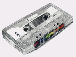 Tape Cassette... by Evanrinya
