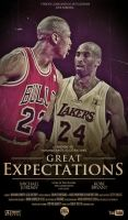 Michael Jordan and Kobe Bryant Poster by IshaanMishra