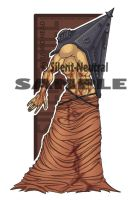 Pyramid Head: bookmark by Silent-Neutral